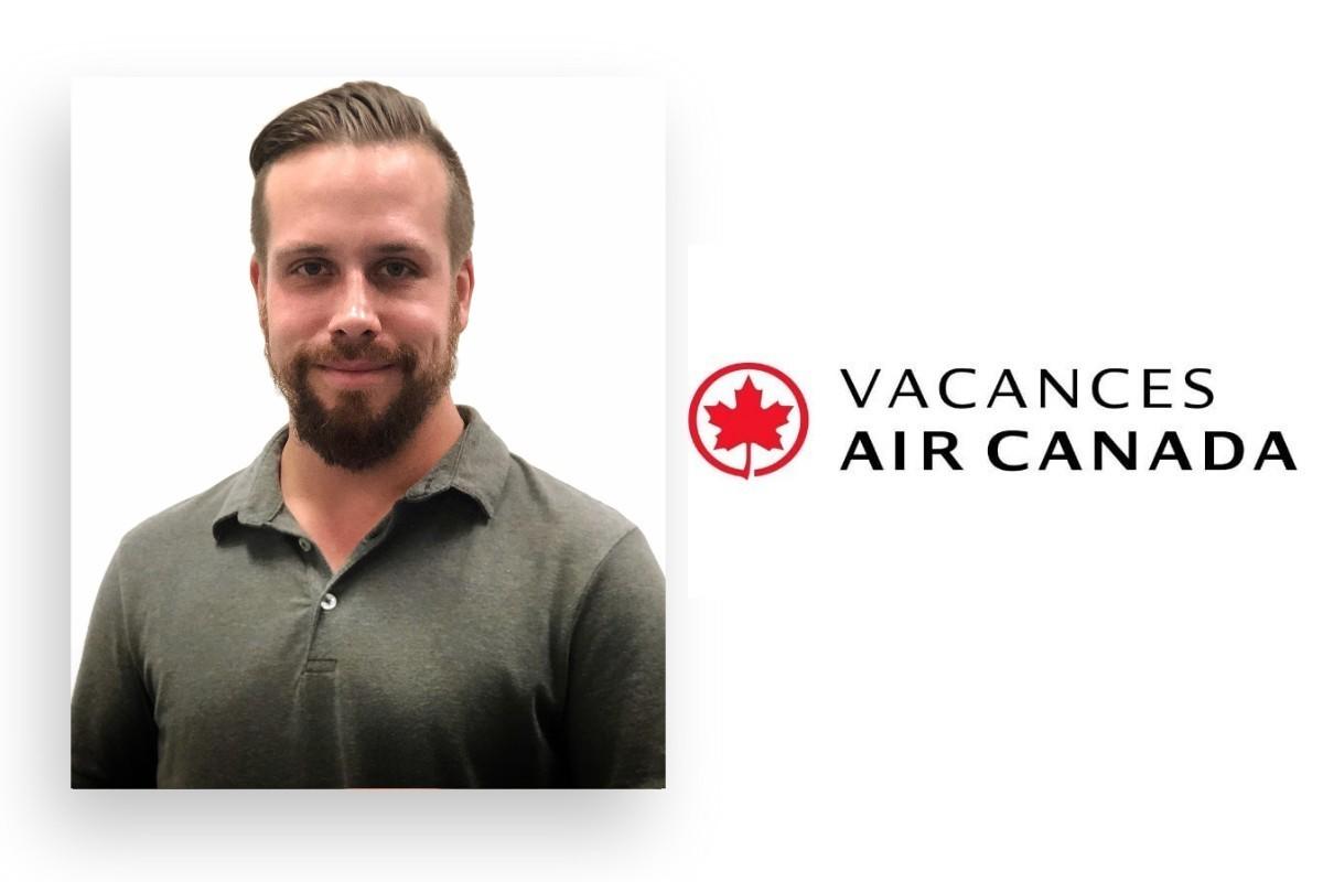 Marco Gagnon devient chef de secteur chez Vacances Air Canada