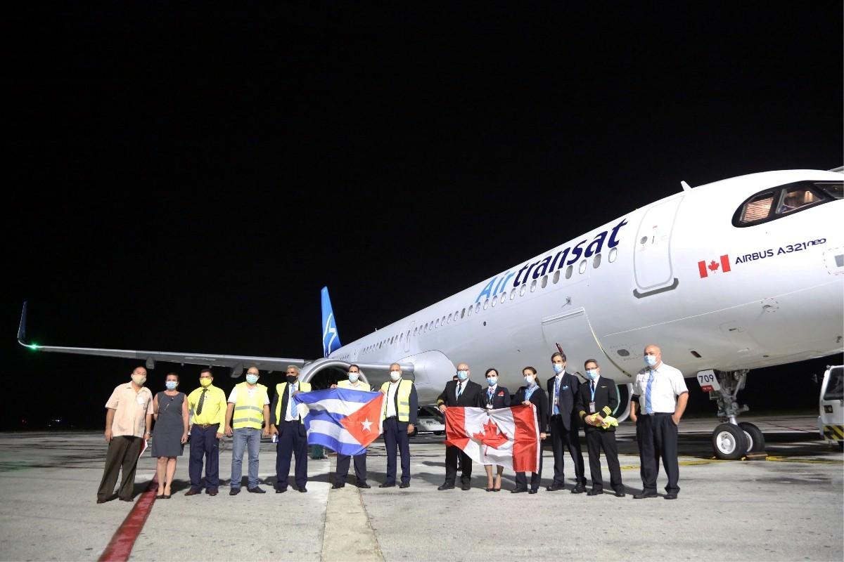 Air Transat reprend ses vols vers Cuba