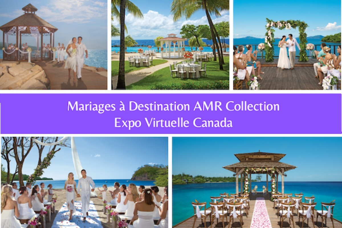 AMR Collection : 10 lieux de mariage à découvrir en direct