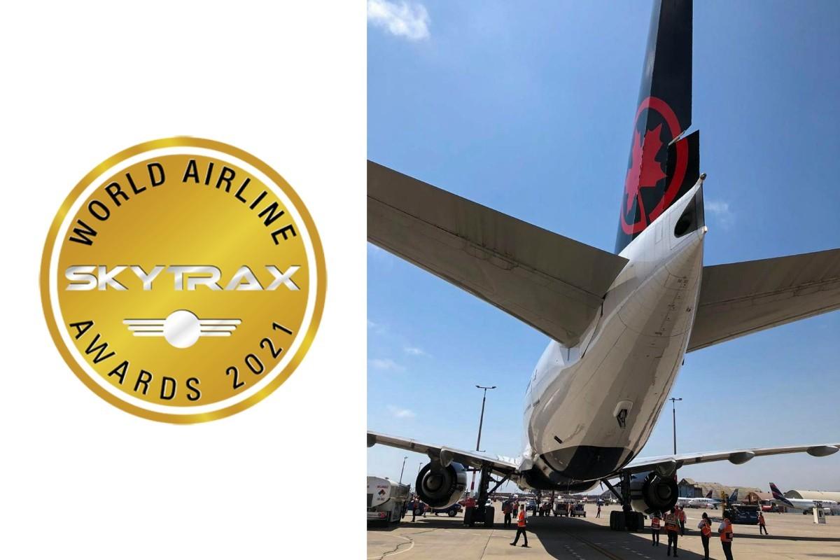 Air Canada remporte plusieurs prix aux World Airline Awards de Skytrax