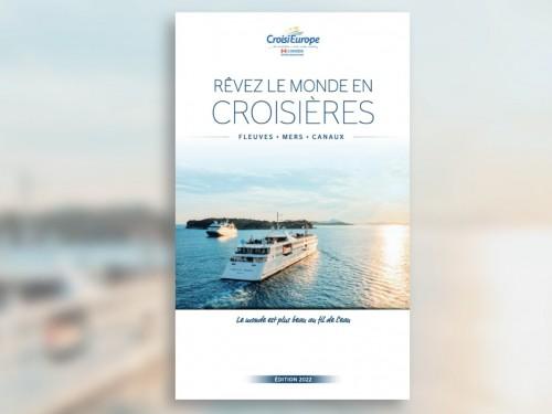 CroisiEurope : le catalogue des croisières 2022 est disponible en ligne