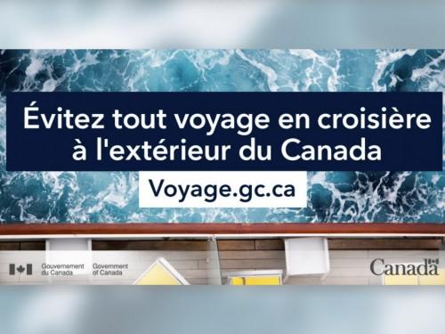 Retrait de l'avertissement officiel global aux voyageurs: oui, mais les croisières?
