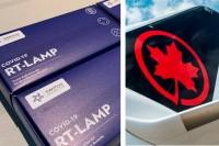 Air Canada lance des trousses portatives d'autotests COVID-19 avec Switch Health